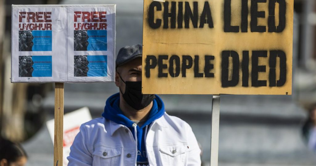 The Chinese embassy: The Uyghur genocide 'an outright lie'    Abroad