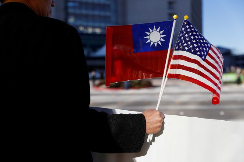 The United States is hosting Taiwan in the Netherlands for its first visit since the restrictions were lifted