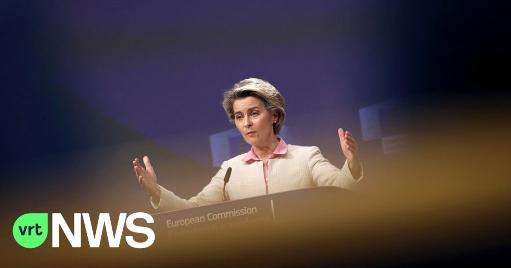 The criticism is growing against UNHCR Chair von der Leyen: Why is she blamed?  Can it smooth out the folds?