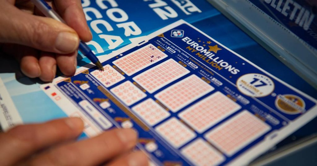 The record jackpot of 210 million euros goes to one lucky person  Abroad