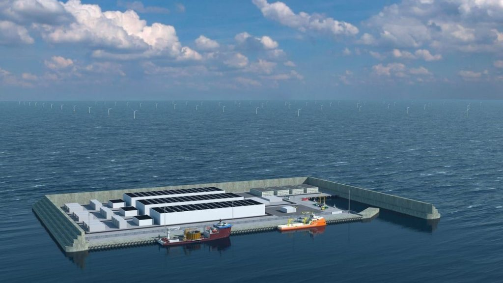 This man-made island off the coast of Denmark will be able to supply millions of European homes with electricity