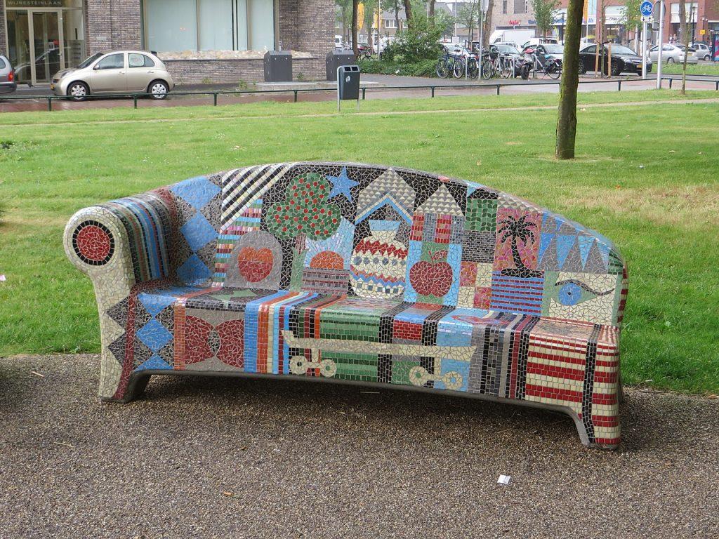 Utrecht's mysteries: What do those mosaic seats do in Utrecht?