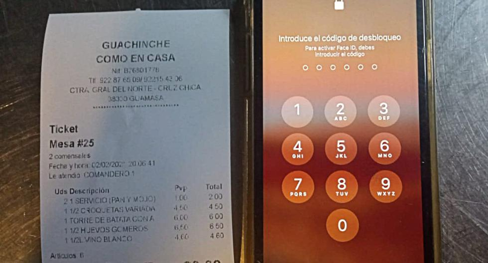 Viral image    They leave the restaurant without paying the bill but forget a modern $ 1,000 cell phone    Widely