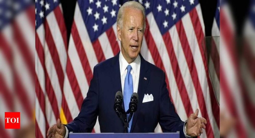 Biden says the American Indians are in control of the United States while continuing to hold key positions