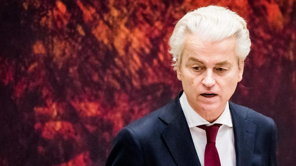 Islam fighter Geert Wilders wants to wrest basic rights from Muslims |  Currently