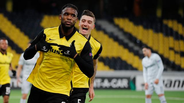 The Young Boys played a tie in the competition for the fourth time in a row.