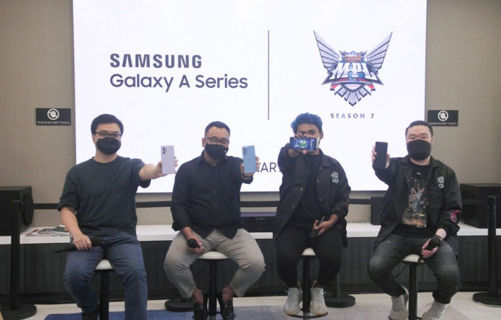 Galaxy A Series becomes the official device for MPL Season 7