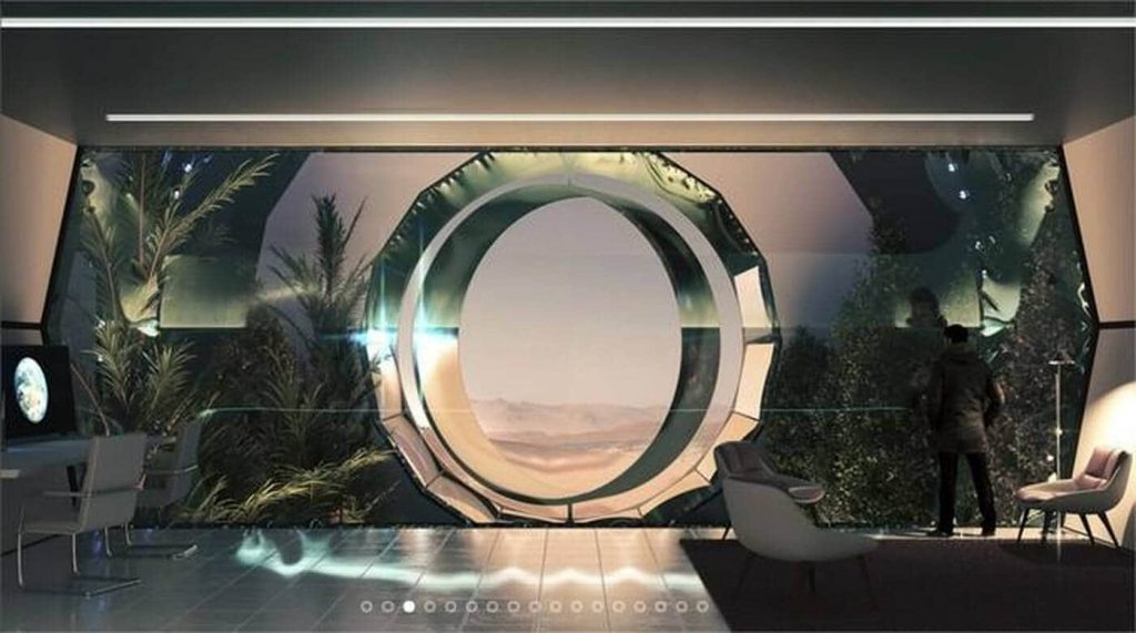This is what the city Elon Musk wants to build on Mars - Ouest-France evening edition