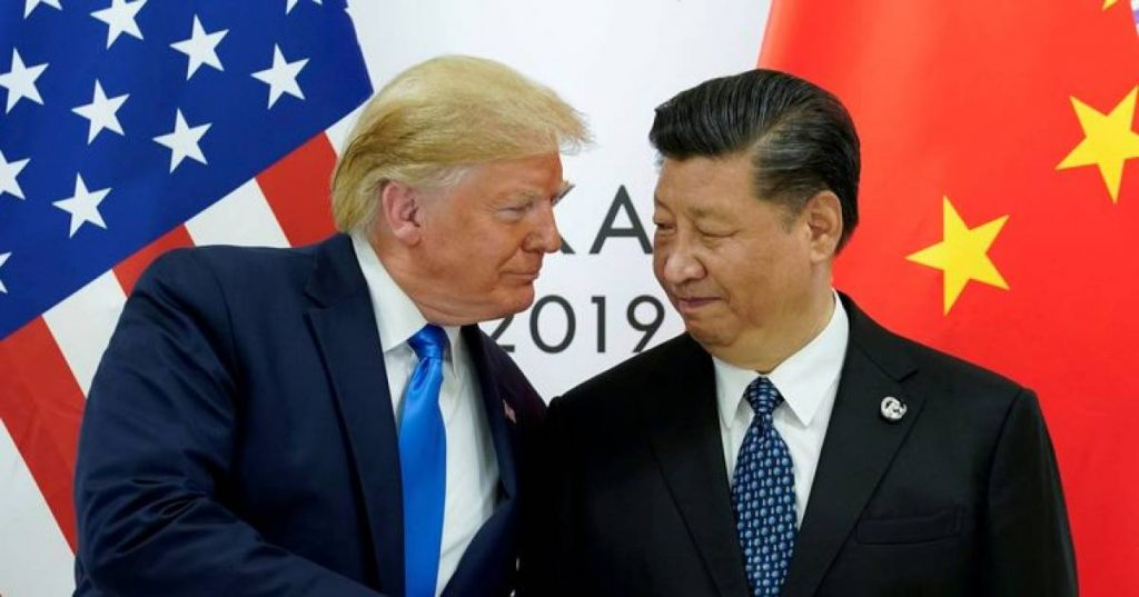 """An increasingly fierce conflict between the United States and China: """"enough is enough"""" 