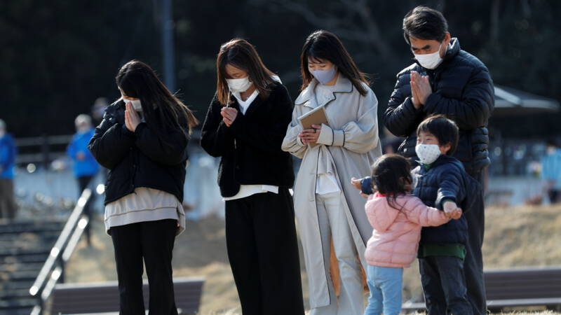 Japan remembers devastating earthquake: 'ten years later it's still a lot of pain'