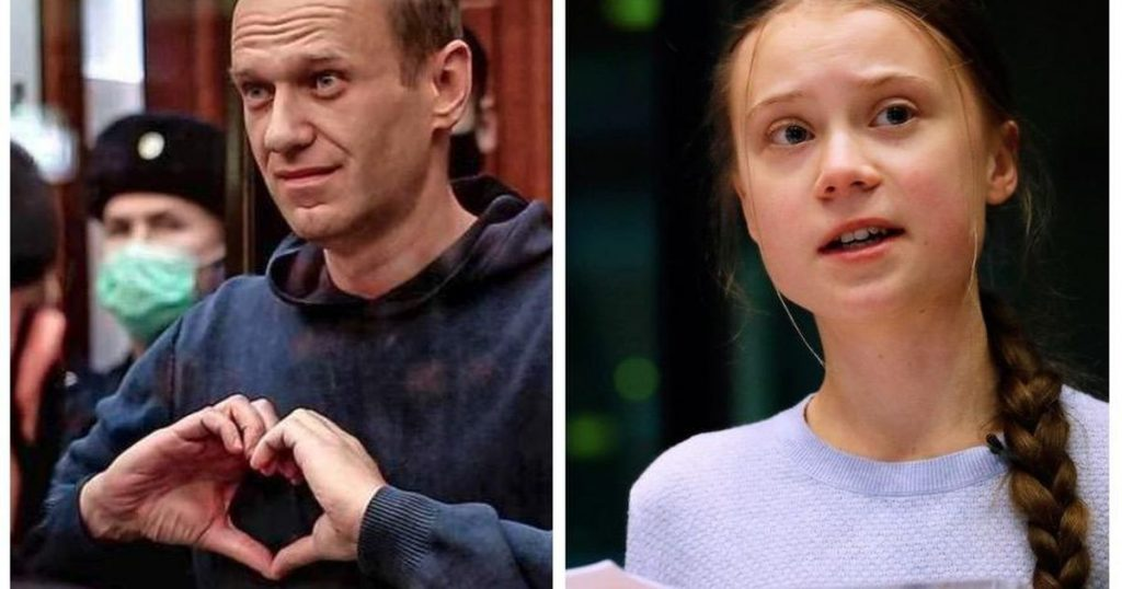 Navalny and Tonburg are among the nominees for the Nobel Peace Prize |  Abroad