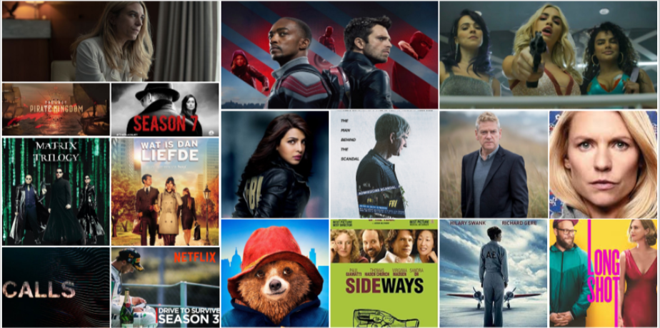 """New on broadcast this week: the start of """"The Falcon And The Winter Soldier"""" and """"Sky Rojo"""" from the makers of """"La Casa De Papel"""" and the powerful Flemish novel with """"Déjà-vu"""""""