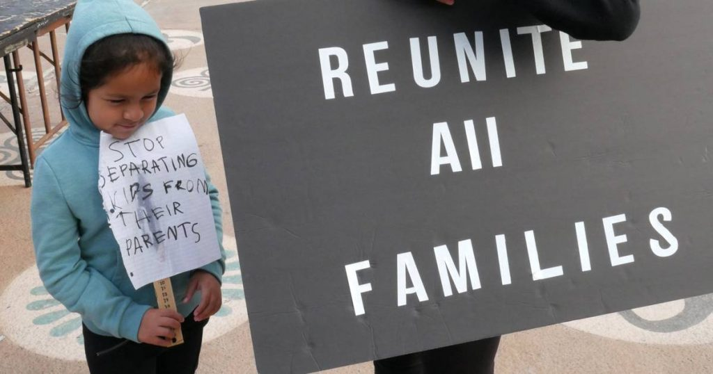 Parents of 628 immigrant children in the United States have not been found yet  Abroad