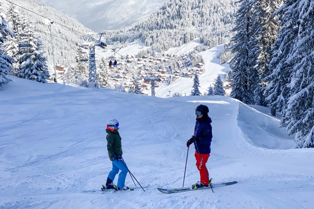 Ski areas with many winter sports at Les Portes du Soleil