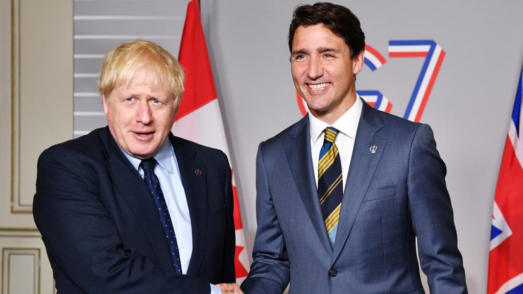 The British sign the second trade agreement after Brexit, this time with Canada |  Currently