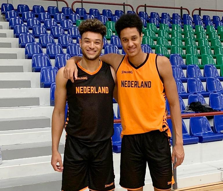 The SU Basketball Center from Holland follows the Brother to the sport