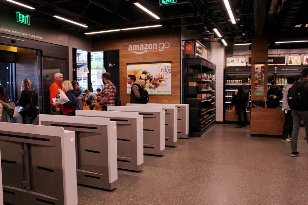 """""""The first British Amazon Go store opens in Ealing this week."""""""
