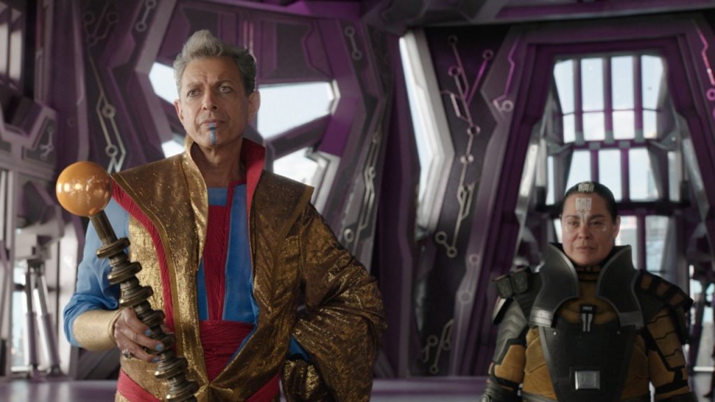 Will Jeff Goldblum return to the role of the guru in Thor: Love and Thunder, or not?