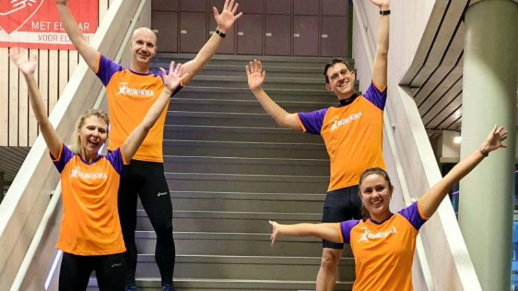 beautiful!  These teachers in Groningen run a Swiss Mountain Marathon for KiKa