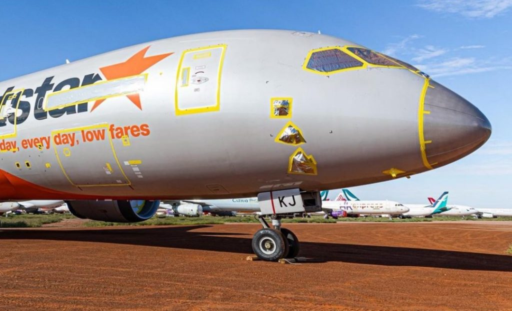 Qantas Group is removing Jetstar-787s from the desert and expects to keep all A380s