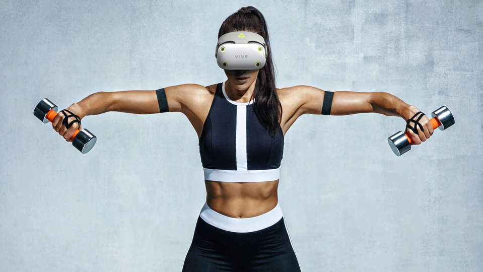 HTC Vive Air VR glasses leaked, ideal for measuring sweat during exercise!  |  Gizmodo Japan