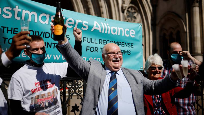 British judges overturn the ruling against wrongly convicted post office operators