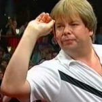 FORGOTTEN DARTERS: Mike Gregory missed six rival arrows to become World Champion in 1992