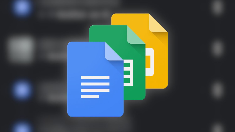 Google Docs slides logo