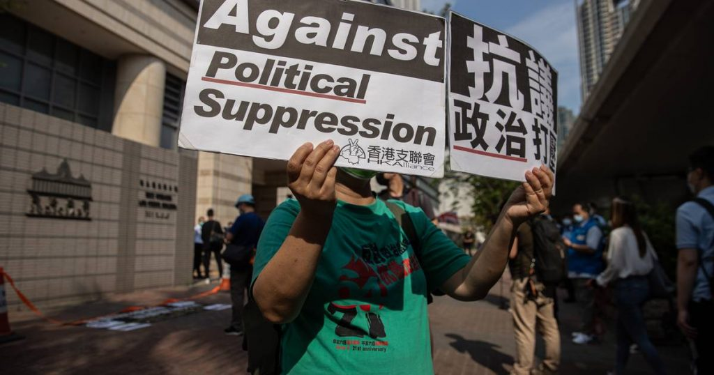 Jimmy Lai among seven found guilty of unauthorized assembly in HK