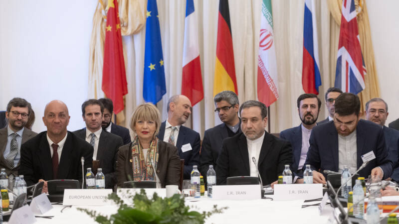 Iran is consulting with world powers on the possible return of the United States in the nuclear deal