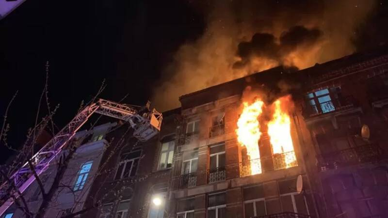 Major local fire in Brussels: at least 25 people injured