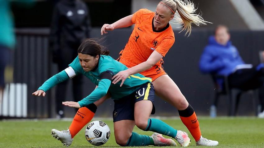 Matildas defeated the Netherlands 5-0