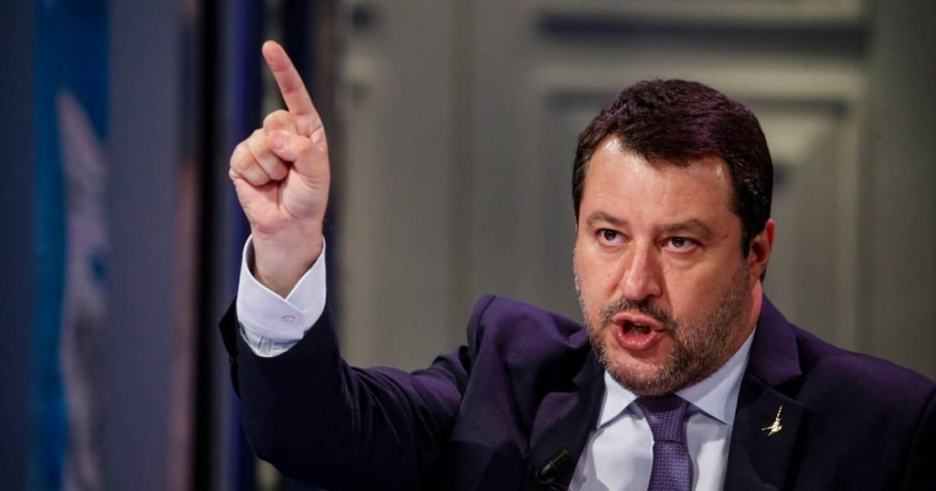 Salvini, former Italian minister on trial for refusing entry to refugees by boat |  abroad