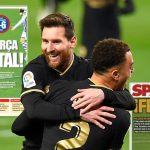 """Spanish media criticize Barcelona: """"Frenkie de Jong was the biggest driving force""""    Foreign football"""