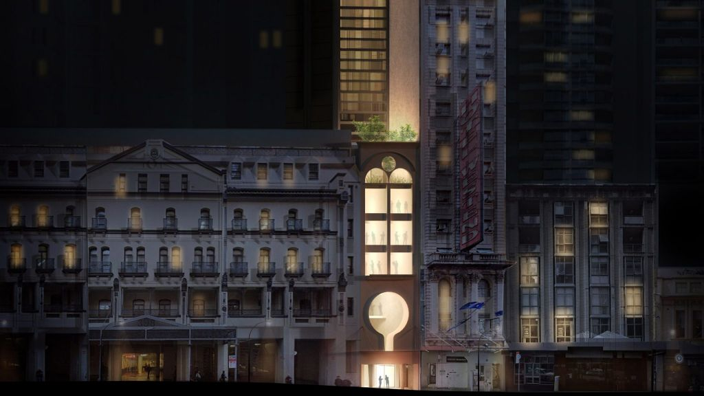 """Sydney gets an """"incredibly narrow"""" skyscraper from Durbach Block Jaggers"""