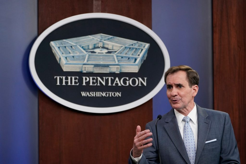 """The Pentagon is """"watching"""" Russia escalate its aggression in Eastern Europe"""