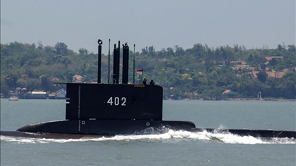 The US Air Force helps search for an Indonesian submarine