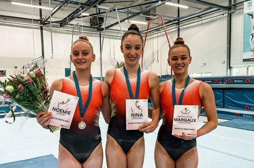 Two members of the gymnastics club Varsenare for the European gymnastics championships - KW.be