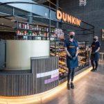 Dunkin 'opens pop-up shops in Van der Valk