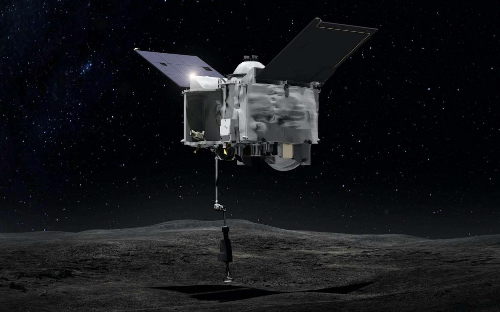 A cargo of asteroid dust bound for Earth