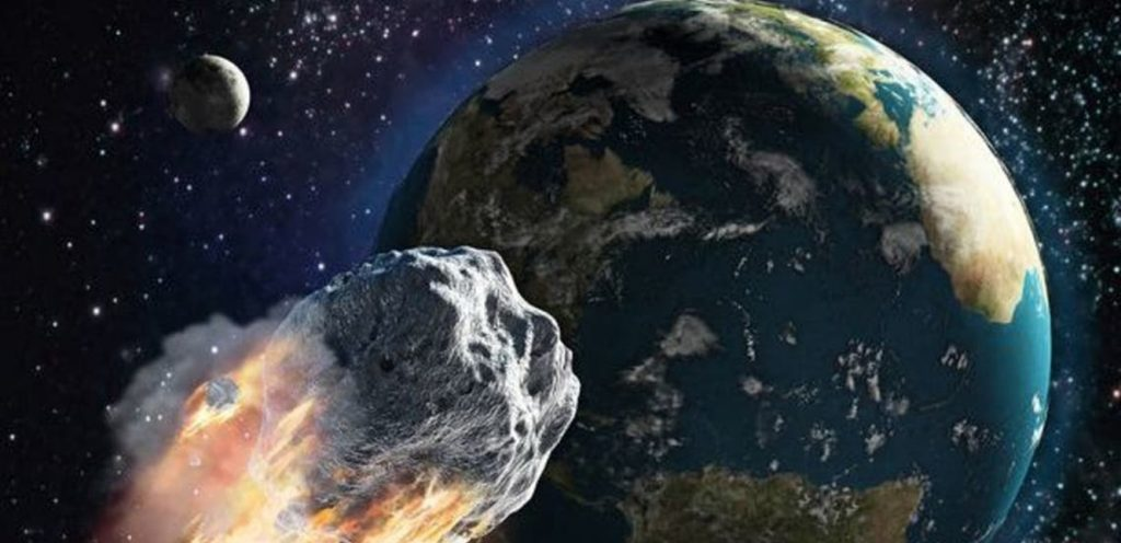 A giant asteroid passes near Earth ... What is in the information?