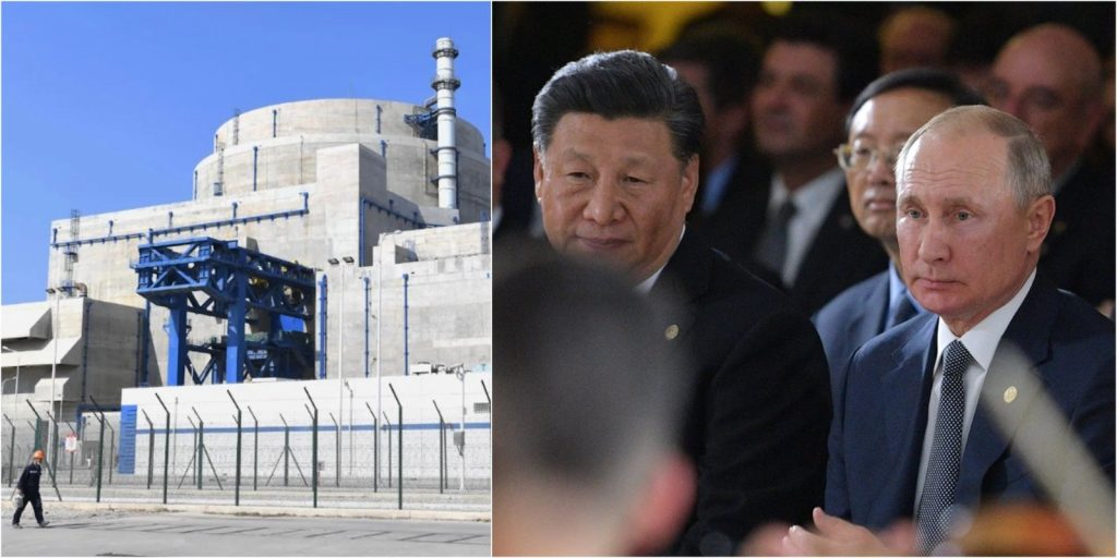 China and Russia are building nuclear reactors together, while Europe is hopelessly behind