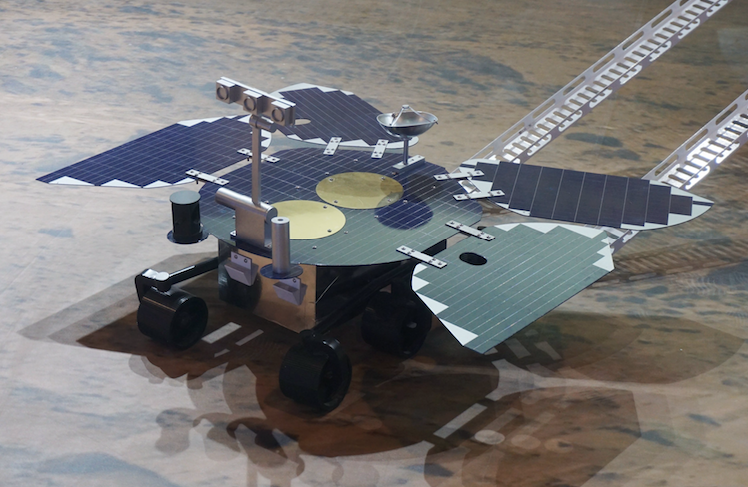 China is the second country to operate robotic jeeps on Mars