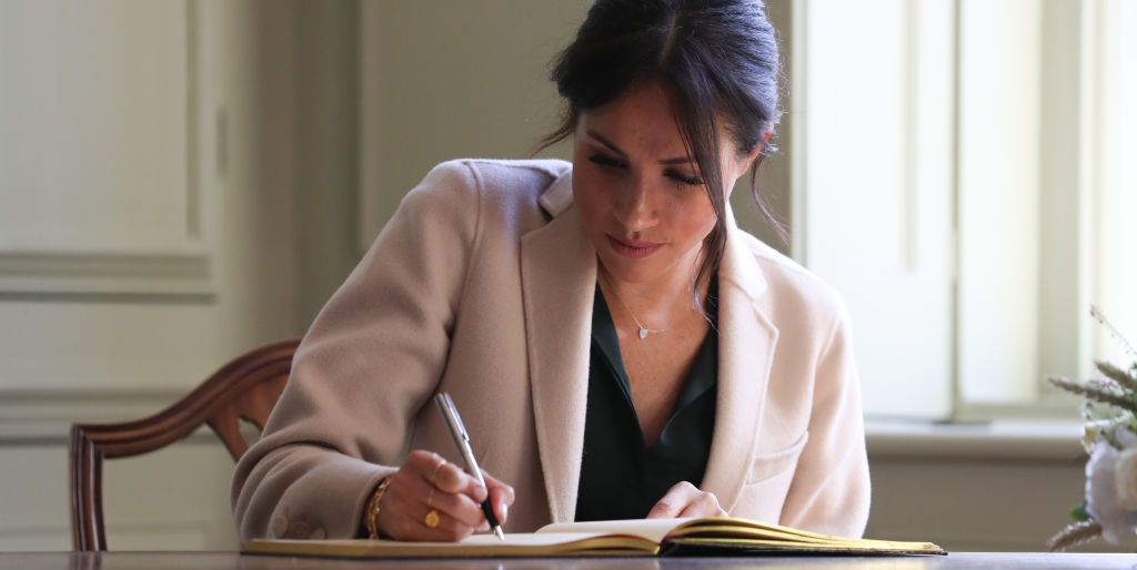Megan Markle publishes the children's book The Bench