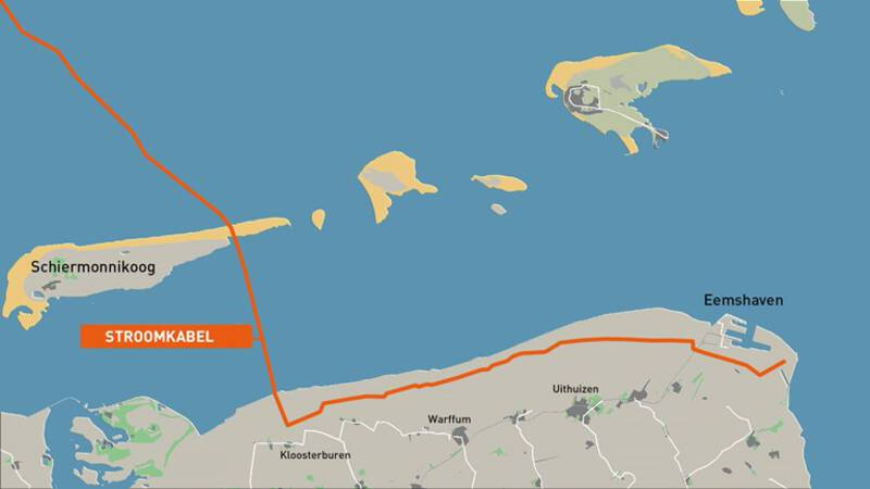 The controversial power cable via Schiermonnikoog is yet to be confirmed
