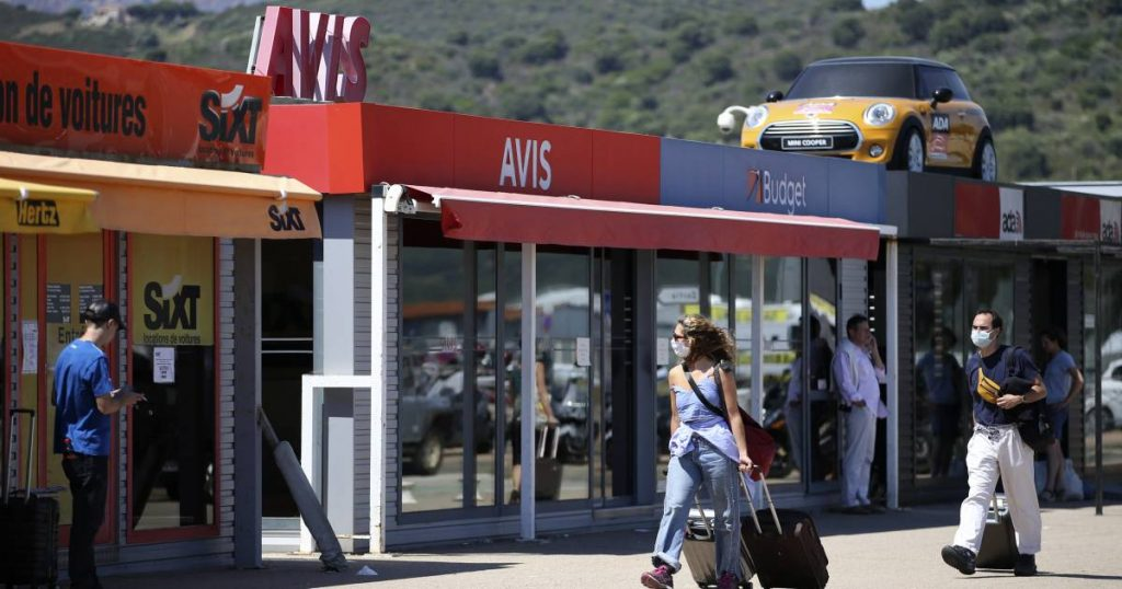 The cost of renting a car in holiday countries is up to 1,500 euros per week due to shortages  the cars