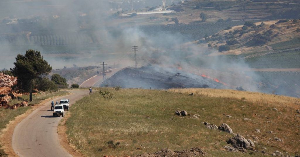 Three rockets fired at Israel from Syria    abroad