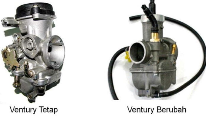 Types of motorcycle carburetor based on the gas valve and venturi shape