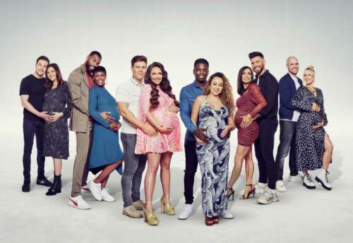 Pregnant celebrities take center stage on MTV's new show