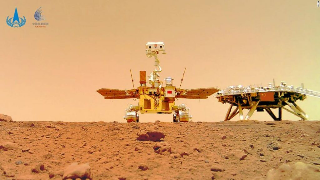 China publishes new images of Mars taken by the Jurong rover